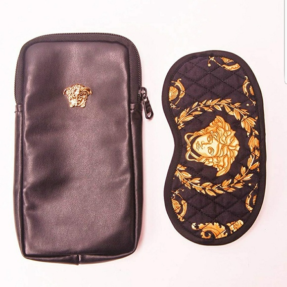 Versace Other - Versace Medusa Eye 👁 Mask Black and Gold